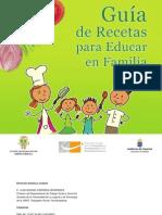 Guia de Recetas Para Educar en Familia - Santa Ursula
