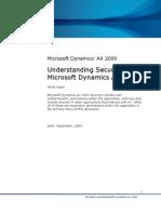 Microsoft Dynamics Ax Security