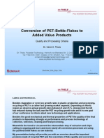 Pet Flake Conversion 2