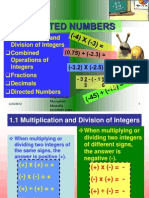 Chapter Module Directed Numbers
