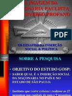 IMAGEM DA MAÇONARIA PAULISTA NO UNIVERSO PROFANO