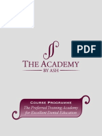The Academy by Ash - Course Programme