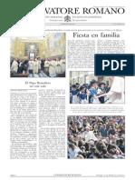 L´OSSERVATORE ROMANO. 22 Abril 2012