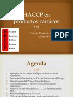 HACCP en productos cárnicos