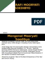 BIOGRAFI MOORYATI SOEDIBYO