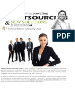 Outsourcing Companies in Pakistan | Evolution Pakistan Outsourcing Group