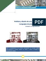 Análisis y Diseño de una aplicación  Lenguajes de programación