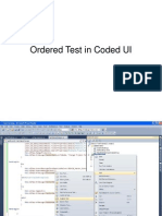 Ordered Test Coded UI