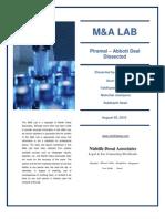 M&a Lab- Piramal Abbott Deal