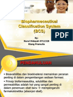 Biopharmeceutical Classification System