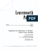 Leavenworth_Papers 5 - Fighting the Russians in Winter
