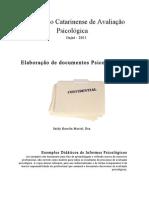 PDFApostila sobre informes psicológicos II Seminário Catarinense de Avaliação Psicológica