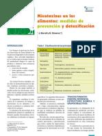 (AVES) Micotoxinas en los alimentos medidas de prevención y detoxivicación
