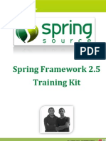 Spring Framework Training Kit