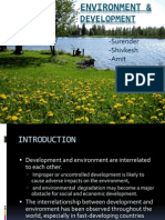 Environment & Devlopment