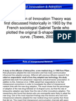 Innovation and Diffusion