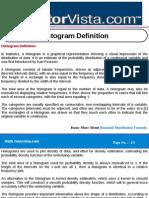 Histogram Definition
