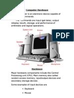 Computer Hardware 1
