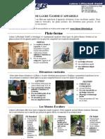 Lehner Lifttechnik - Produits