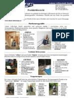 Lehner Lifttechnik - Produktübersicht