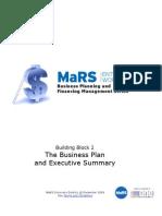 The Business Plan Executive Summary Workbook