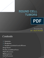 Round Cell Tumors Final