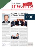 Niedersachsen-Vorwärts Mai 2012
