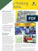 Systems thinking at Aviva