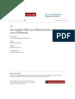 Financial Analysis of Motorala