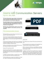 Aastra 400 Datasheet en UK
