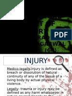 Medico Legal Aspect of Injury