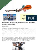 Paulistão Semifinais definidas com San-São e dérbi centenário