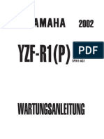 Yzfr1 Rn09 Service Manual German