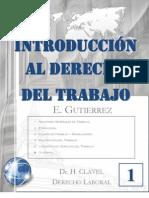 1. INTRODUCCIÓN AL DERECHO TRABAJO - DER TRABAJO