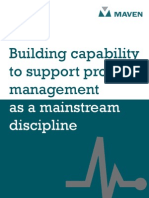 Building Capability to Support Project Management as Mainstream Discipline