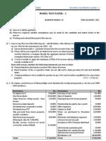 Income Tax Model Paper
