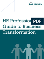 HR Professionals Guide to Business Transformation