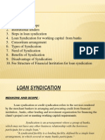 Loan Syndication