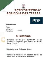 ZONEAMENTO AGROECOLÓGICO DO CAMPO EXPERIMENTAL DA ULBRA