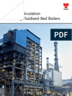 Circulating Fluidised Bed Combustion Boiler