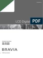 Manual Bravia