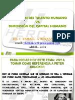 Talento Humano vs Capital Humano