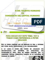 Talento Humano vs Capital Humano