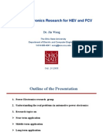 04_Power Electronics Research for HEV and FCV