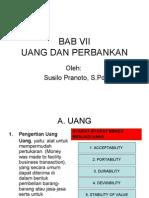 Bab Vii Uang Dan Bank