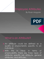 Employee Attributes Task 1
