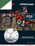 XTZ 250 LANDER Manual de Serviços