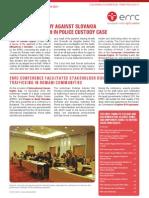 Errc Newsletter 1 2011