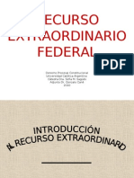 RECURSO EXTRAORDINARIO 2010 diapositivas