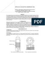 Liquid Damping Concentric Membrane Tank